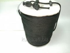 Шнур для одежды 4 мм черный