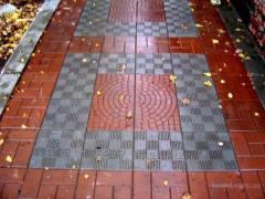 Плитка тротуарная(вибролитая)