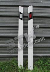 Column road flexible the increased stability
