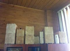 Стіновий клеєний брус