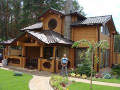 Sets of wooden houses, Ukraine, expor