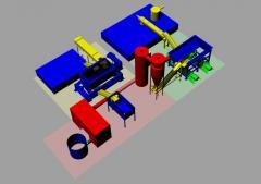 Equipment for processing of spirit distillery