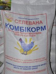 Корм для курчат