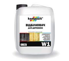 Отбеливатель для древесины W1 Kompozit®