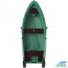 Пластиковая лодка (моторно-гребная)Kolibri RКМ-350