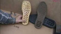 Пресс для раскроядеталей верха и низа обуви,