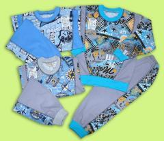Pajamas for the boy Artikul 375-17