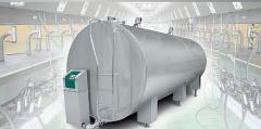 Tanks coolers of milk Tsoo_