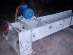 Scraper TG-20 conveyors - 100 t/hour