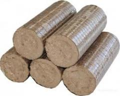 Брикеты Nestro из древесины. Брикеты из Лузги
