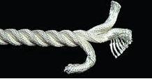 Liny poliamidowe (z tworzyw sztucznych) położyć