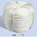 Ropes polyamide (of plastics) lay rope GOST