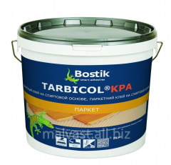Glues for parquet on the basis of rubber and