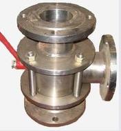 Кран шаровый нержавеющий трехходовой (сталь 12Х18Н10Т) ДУ40-150 РУ16-40