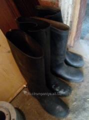 Gumboots warehousing production USSR of a state