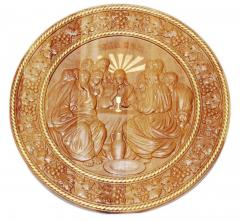 Carved Icon Last Supper
