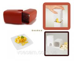 Potato cutter for preparation of French fries