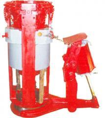 Pneumatic wedge capture PKR-560M