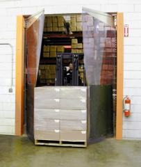 Pendular doors, PVC of a door, collar pvc, oar