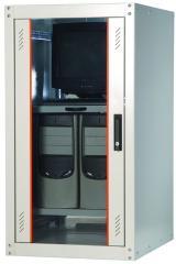 Шкаф монтажный напольный EcoLine 32U 600x600 мм