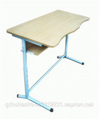 Table student's 2kh-seater Pil