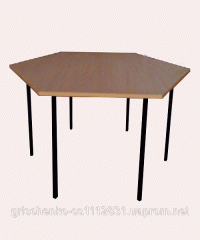 6-seater dining table, children's