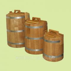 Barrels for a pickles 3-100l