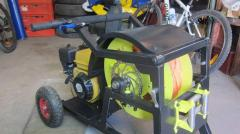 The mobile winch (WINCH) for wakeboarding