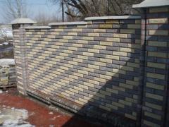 Brick intaking Scala production, sale