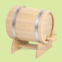 Barrels for wine, a flank for cognac, a wine cask