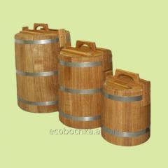 Кадка дубовая для засолки /липовая для меда