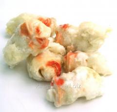 Crabmeat royal rose of 30% glaze