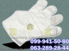 Перчатки полиэтиленовые -100шт.