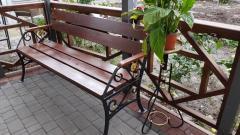 Скамейка садово-паркрвая сп-0155