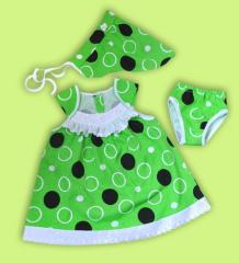 Dress for the baby Artikul 714-17