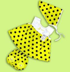 Dress for the baby Artikul 183-17