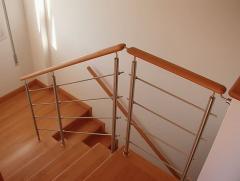 Hand-rail for ladders. Hand-rail for ladders