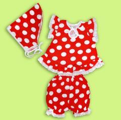 Dress for the baby Artikul 351-17