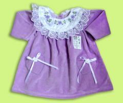 Dress for the baby Artikul 852-16
