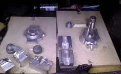 Model sets of casting molds