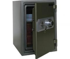 The safe with a code zamk of Topaz BSD-510