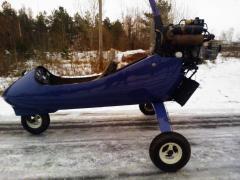 Motor-hang-glider