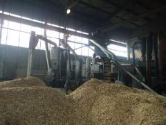 Завод по производству топливных гранул (пеллет)