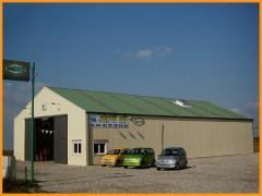 Здание  быстромонтируемое (БМЗ) DELTA