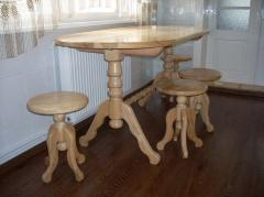 Natural tree tables