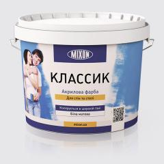 Акриловая водоэмульсионная краска для стен Mixon