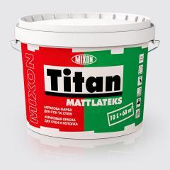 Водоемульсійна фарба для стін і стелі Mixon Titan