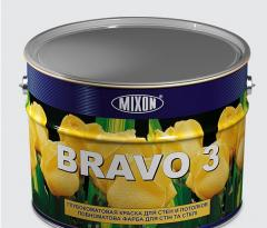 Deep-opaque paint for walls and ceilings of BRAVO