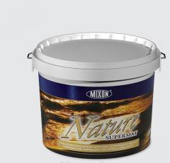 Deep-opaque paint for walls of Nature Supermat of