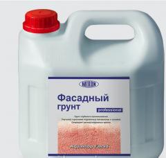 Фасадный грунт влагоизолятор Mixon Аквастоп-Ф. 3 л